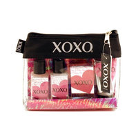 Xoxo 62985825 Cherry 1.7 Sg-1.7 Bl-1.4soap-1hltn-travel Canvas Bag