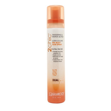 Giovanni 2chic Tangerine & Papaya Butter Ultra Volume Big Body Hair Spray