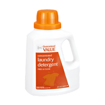 Guaranteed Value Free & Clear Concentrated Laundry Detergent