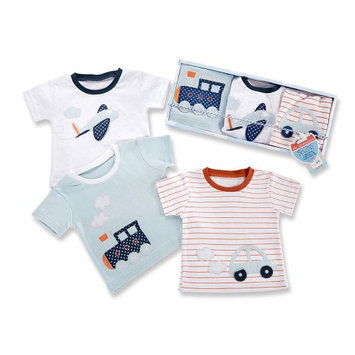 Baby Aspen Boys 3 Piece The Adventure Begins T-Shirts