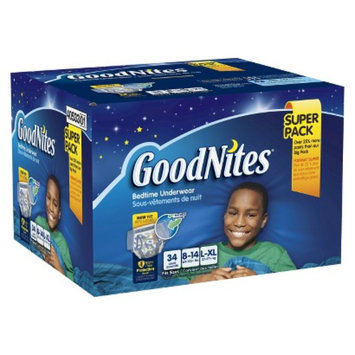 GoodNites® Bedtime Pants for Boys L/XL