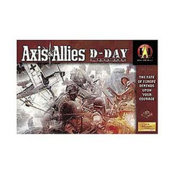 Axis & Allies D-Day Game Ages 12+, 1 ea