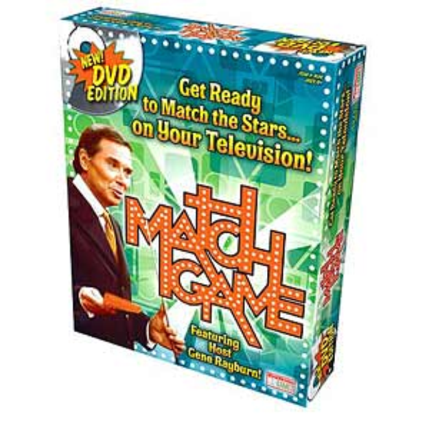 Match Game DVD Game Ages 12+