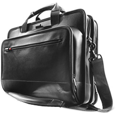 Lenovo 43R2480 Deluxe Leather Carrying Case - Fits Notebook PCs up to 15.4