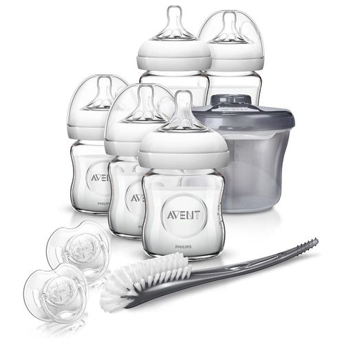 Babies R Us Philips AVENT Natural Glass Baby Bottle Gift Set
