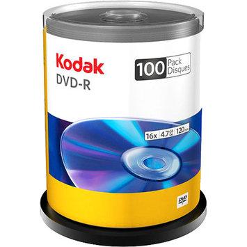 Kodak 100-Pack 16X DVD-R 4.7GB Spindle
