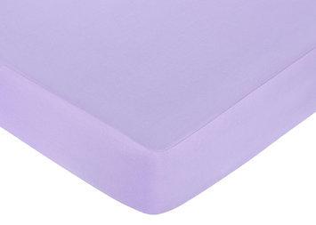 Jojo Designs, Llc. Sweet JoJo Designs Purple Fitted Crib Sheet