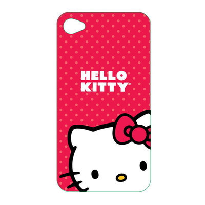 Spectra Hello Kitty Hard Back Cover Case for new iPod Touch 4th generation Red
