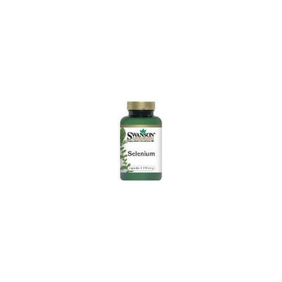 Swanson Premium Brand Selenium (L-Selenomethionine) 100 mcg 300 Caps