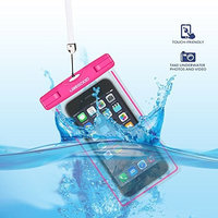 Waterproof Case, Ubegood Universal Waterproof Case Bag Pouch , Waterproof Snowproof Pouch case for iPhone 6/6s/6 Plus/5s,Samsung Gaxaly S6/ S5, Note 6/5/4,and other up to 5.5 inch Smartphones