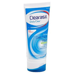 Clearasil Daily Clear Oil-Free Daily Face Wash
