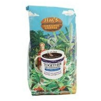 Jim's Coffee Bn, Organic, Togethr, Dec, 12 oz (pack of 6 )