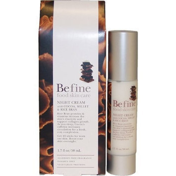 Night Cream with Cocoa, Millet and Rice Bran by Befine, 1.7 Ounce