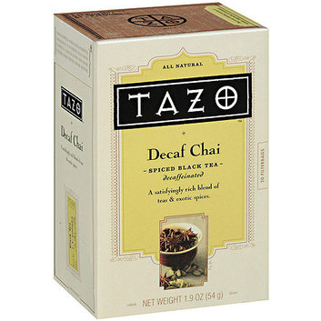 Starbucks Tazo Decaf Chai Spice Black Tea