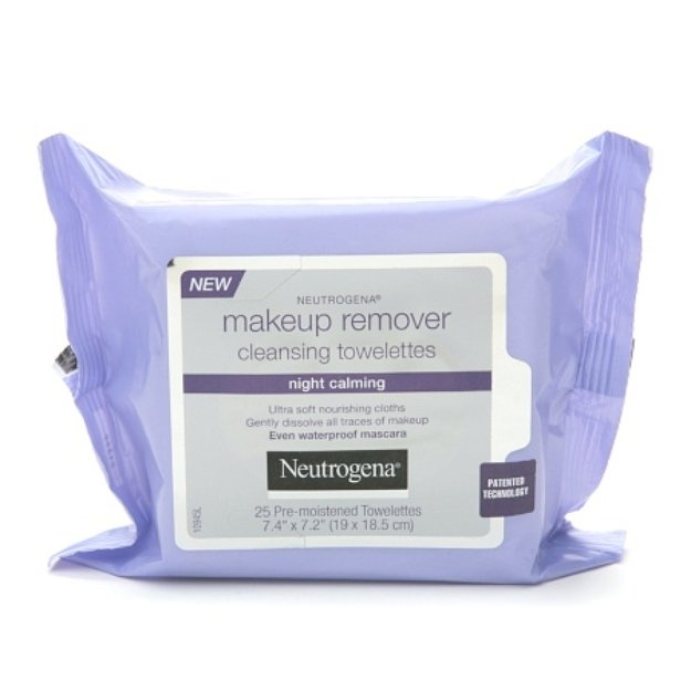 Neutrogena Make-Up Remover Cleansing Towelettes Night Calming Reviews ...
