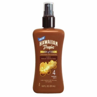 Hawaiian Tropic Touch of Color Pump Lotion, SPF 4, 6.8 fl oz