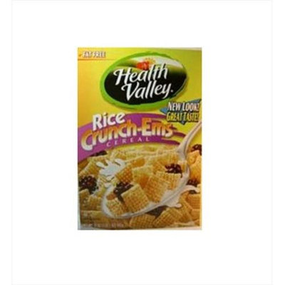Heath Valley Natural Foods Healthy Valley Crunch-Em'S Rice Cereal 1 14. 25 -Pack of 7