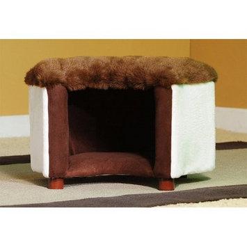 Keet Cat Silhouette Pet Bed Color: Mink