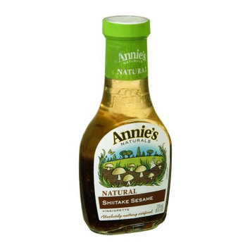 Annie's Vinaigrette, Shitake Sesame, Natural, 8 FL OZ (Pack of 6)
