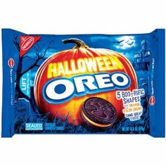 Nabisco Oreo Cookies Halloween Orange Creme