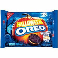 Nabisco Oreo Cookies Halloween Orange Creme