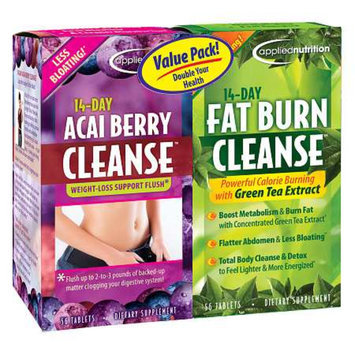 Applied Nutrition 14-Day Acai Berry Cleanse + 14-Day Fat Burn Cleanse