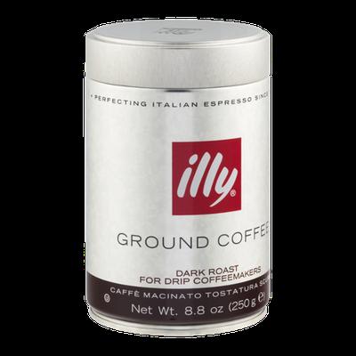 illy Ground Coffee Dark Roast