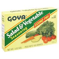 Goya Salad & Vegetable Seasoning, 20-envelopes, 3.52-Ounce Units (Pack of 6)