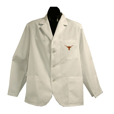 Gelscrubs NCAA Big 12 - Short White Labcoat