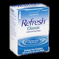 Refresh Lubricant Eye Drop Classic - 30 CT