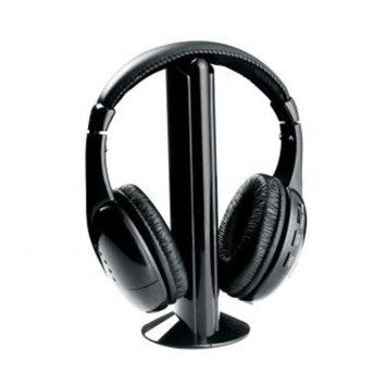 Naxa NE-922A Professional 5 In 1 Wireless Headphone System