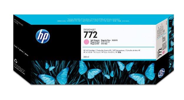 Hewlett Packard CN631A HP 772 Light Magenta Ink 300ml