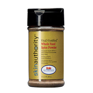 Skin Authority VitaD Fortified Whole Food Spice Powder, 28.4 g