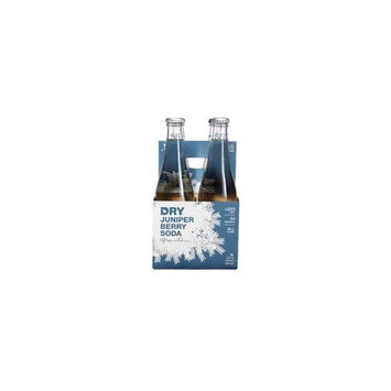 Dry Soda - Juniper Berry, 12 Ounce - 4 per pack -- 6 packs per case.