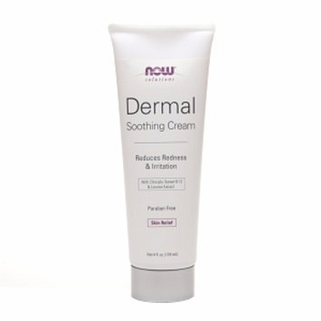 NOW Solutions Dermal Soothing Cream with Clinically Tested B-12 & Licorice Extract