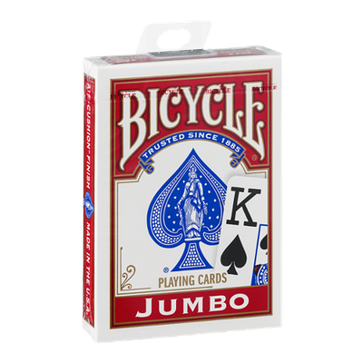Bicycle Playing Cards Jumbo Face
