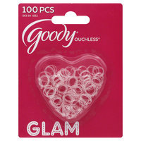 Goody Products Inc. Ouchless Girls Clear Mini Elastics, 100 pcs