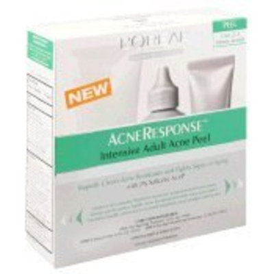 L'Oréal Dermo Expertise Acne Response Intensive Adult Acne Peel, 3-Step System