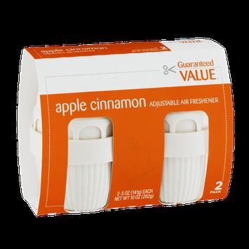Guaranteed Value Adjustable Air Freshener Apple Cinnamon - 2 CT