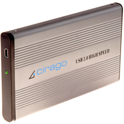 Cirago CST1000 Series 500GB USB Portable Storage