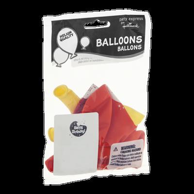 Hallmark Party Express Balloons - 8 CT