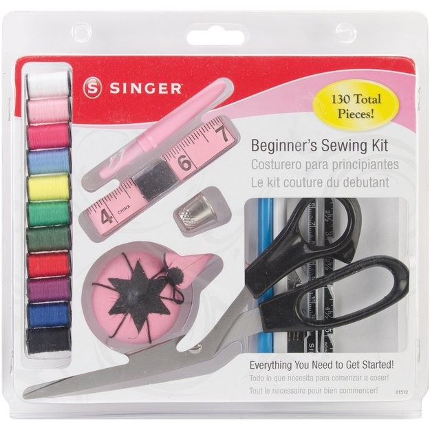 Singer 01512 130 Piece Beginner Sewing Kit