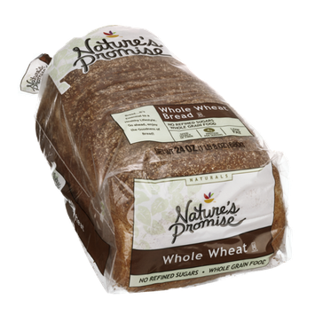 Nature's Promise Naturals Whole Wheat Bread