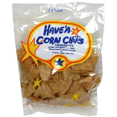 Have a Natural Have'a Corn Chips, Regular Flavor, 4-Ounce Bag (Pack of 24)