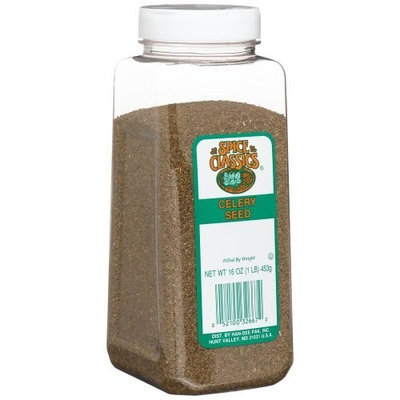 Spice Classics Celery Seed, 16-Ounce Plastic Bottle (Pack of 6)