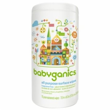 BabyGanics The Grime Fighter All-Purpose Surface Wipes