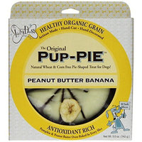 The Lazy Dog Cookie Co Inc, The Original Peanut Butter Banana Pup-pie, 5-Ounce Boxes (Pack of 4)