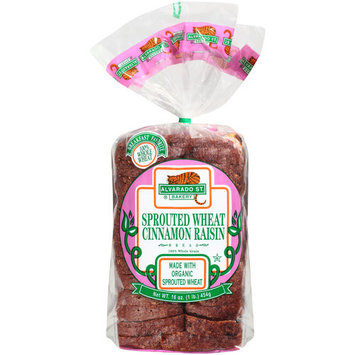 Alvarado St. Bakery Sprouted Wheat Cinnamon Raisin Bread, 16 oz