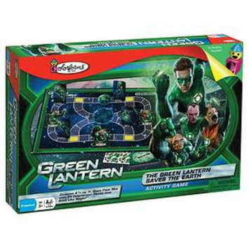 Colorforms The Green Lantern Saves the Earth Activity Game Ages 3+, 1 ea