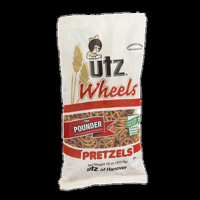 Utz Wheels Pretzels The Pounder
